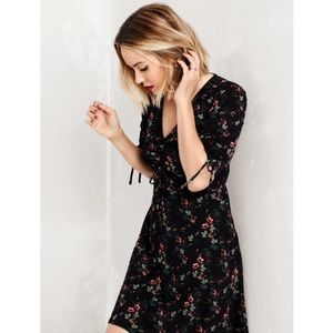 New Lauren Conrad fit and flare tie dress